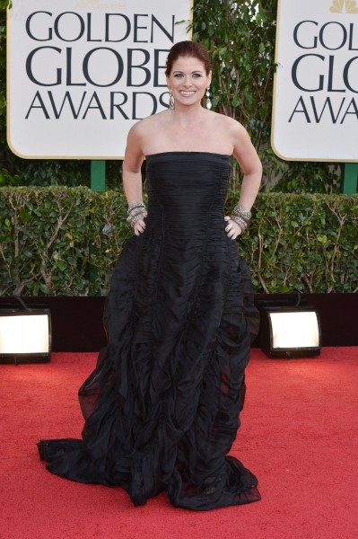 Debra-Messing Golden Globe Awards