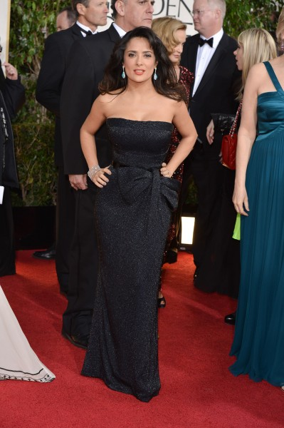 Salma-Hayek golden globe awards
