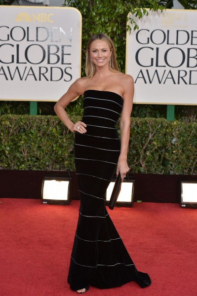 Stacy-Keibler Golden Globe Awards