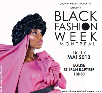black fashion week montreal