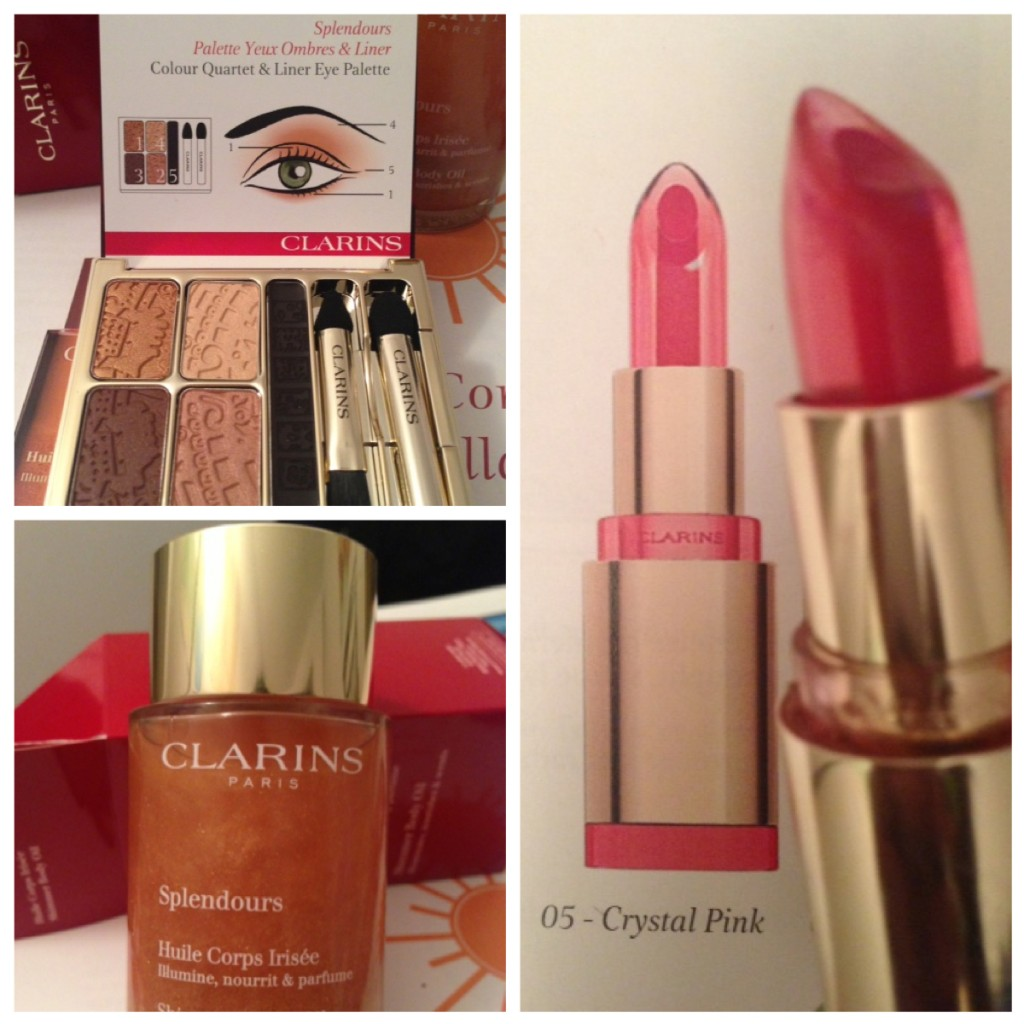 collection splendours clarins 2013
