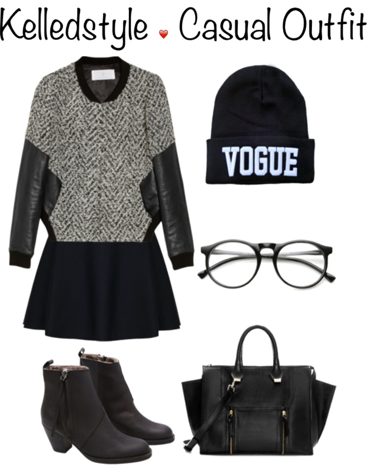 casual outfit fall