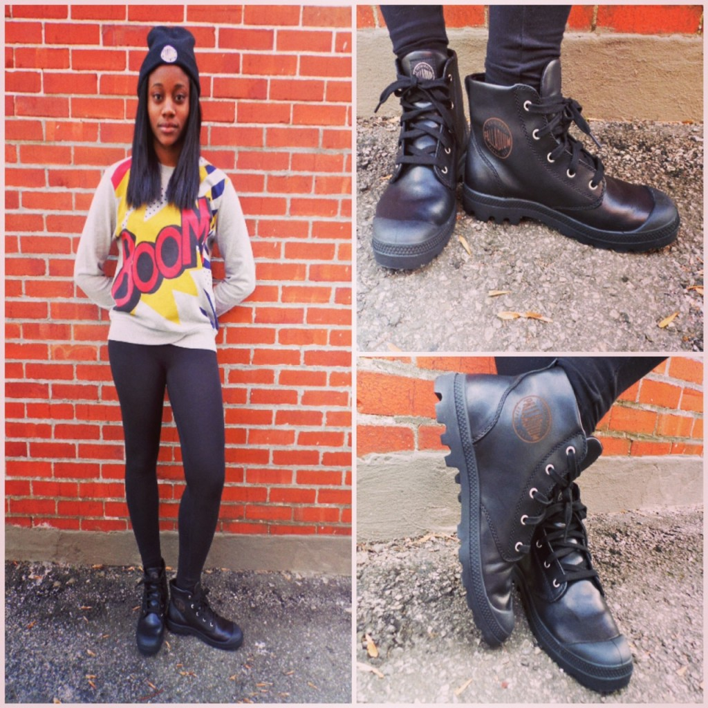 palladium boots fall outfit