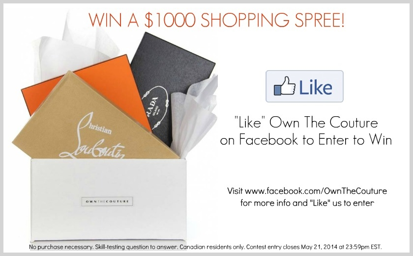 win a shopping spree contest