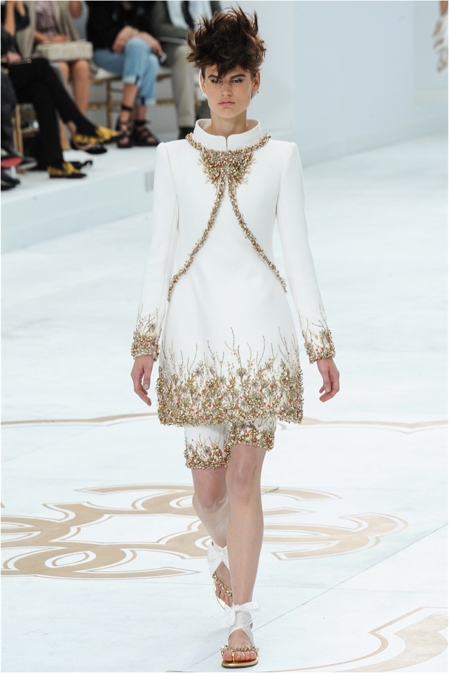 Chanel fall winter 2014 haute couture kelledstyle for 2014 haute couture