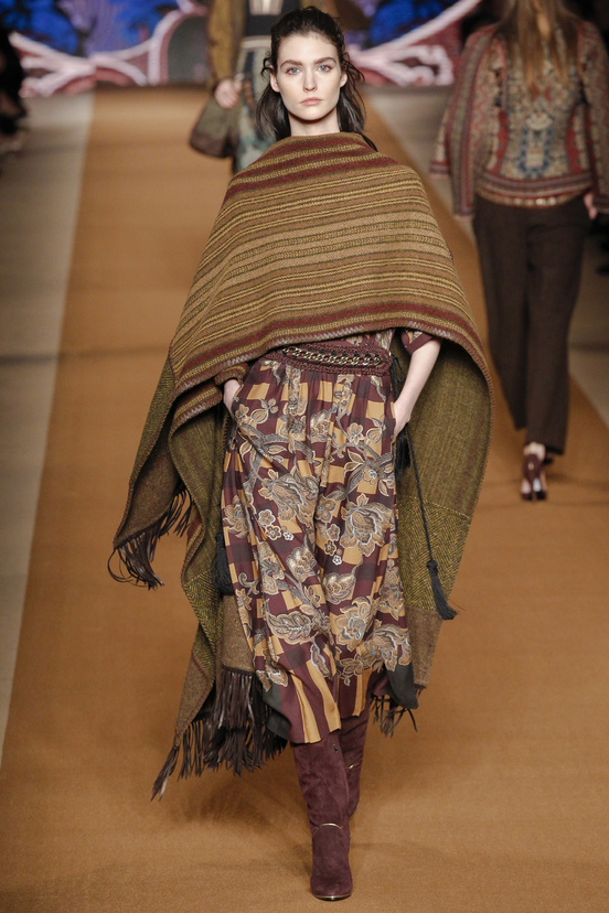 automne hiver 2015 poncho