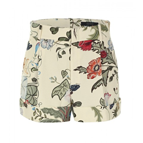gucci-pale-yellow-flora-knight-print-cotton-shorts
