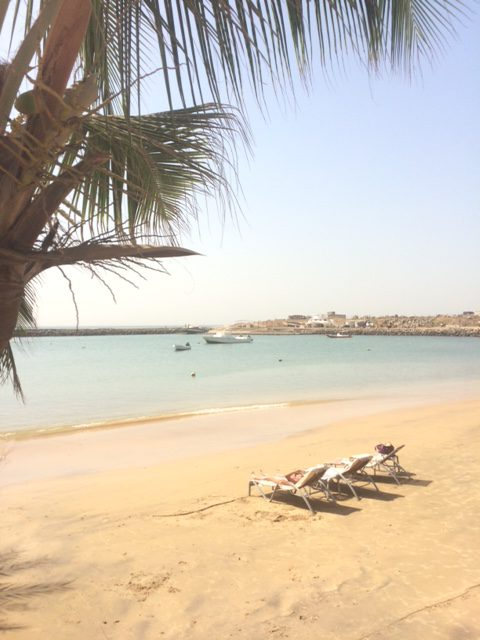 Dakar - Beach at Hotel Terrou Bi