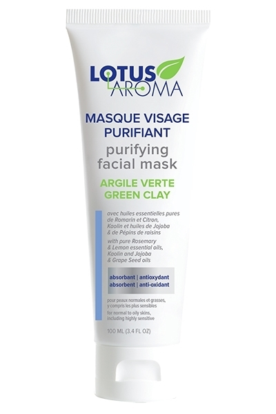 Lotus Aroma, Facial Mask (100 ml) - 16,99$