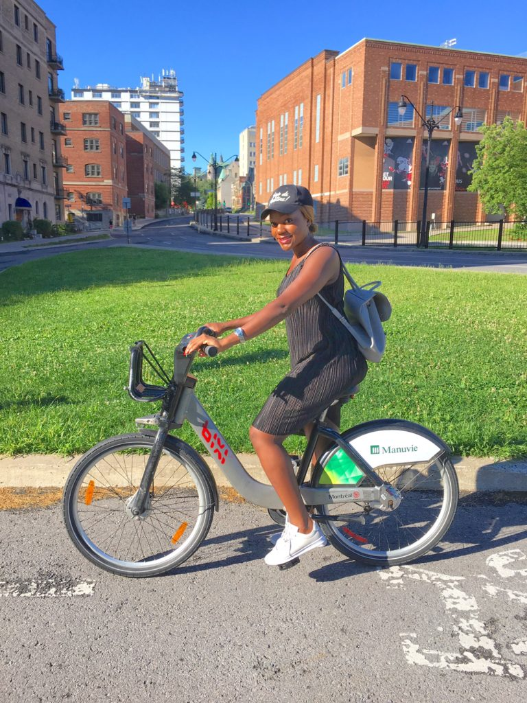one person biking and wearing sport shoes