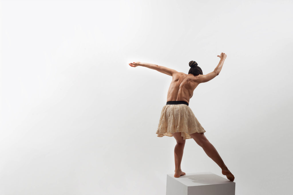 a person dancing
